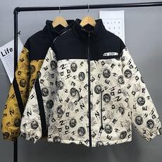 棒球服女秋冬季百搭韓版寬松ins潮學生棉衣棉服情侶工裝加厚外套