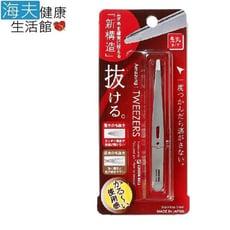 【海夫健康生活館】日本GB綠鐘 Amazing 專利設計達人級 平口毛拔(銀色 GT-221)