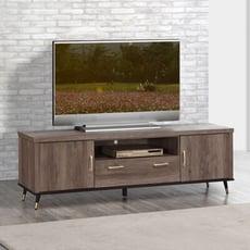 【MUNA】凱爾灰橡色6尺電視櫃/長櫃
