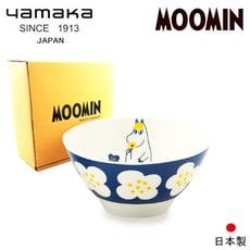 【日本山加yamaka】moomin嚕嚕米彩繪陶瓷碗禮盒1入 (MM034-312)