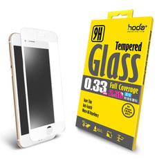 hoda【iPhone 7/8 Plus 5.5吋】2.5D高透光滿版9H鋼化玻璃保護貼