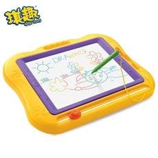 琪趣 兒童 早教 彩色 磁性畫板(外銷品質三色可選) 兒童畫版 畫畫板 彩色畫板 手畫板 手寫板