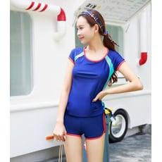 兩件式平口運動/溫泉游泳衣