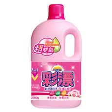 妙管家-彩漂新型漂白水(玫瑰花香)2000g(2入/箱)