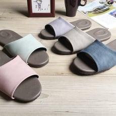 風格系列-渲色皮質室內拖鞋-渲色