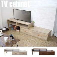 伸縮電視櫃 櫃子 電視架 視聽櫃 茶几桌 收納櫃 台灣製|宅貨