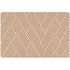 葡萄牙Amorim KORKO軟木餐墊(白條紋)4入組