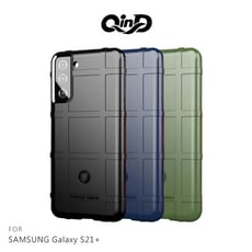QinD SAMSUNG Galaxy S21+ 戰術護盾保護套