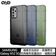 QinD SAMSUNG Galaxy A52 5G 戰術護盾保護套