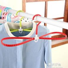 衣架/衣夾多功能塑膠速幹寬肩無痕塑膠衣掛成人幹濕兩用旋轉