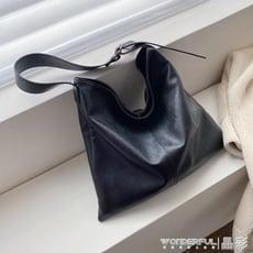 托特包復古大包包女秋冬時尚大容量托特包潮韓版百搭大氣側背包