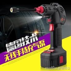 智慧無線車載充氣泵汽車用12V多功能手持便攜式小轎車輪胎打氣筒