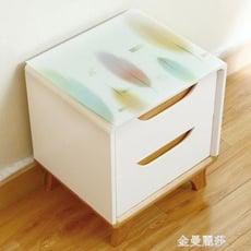 床頭櫃蓋布pvc免洗軟質玻璃桌墊電視櫃桌布防水防塵臺布塑膠桌布