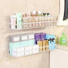 浴室置物架 免打孔壁掛浴室置物架衛生間用品用具廁所收納架子化妝品洗漱台架
