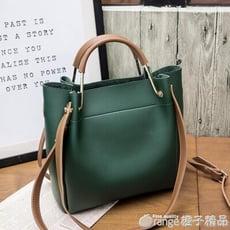 包包女新款女包水桶包潮韓版簡約百搭斜背包/側背包手提包單肩包大包