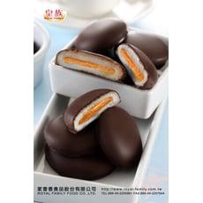 【皇族】巧克力花生Q餅禮盒 (540g)18入