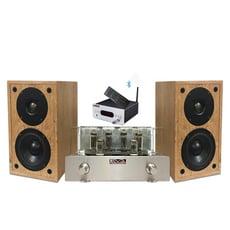 EVA HiFi真空管音響組-擴大機+喇叭+DAC