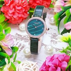 LOLA ROSE 英式LONDON的美感時尚優質腕錶-祖母綠-LR2196