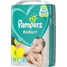 PAMPERS全新幫寶適巧虎紙尿布(黏)S82片(每箱/4包)(全日文包裝)