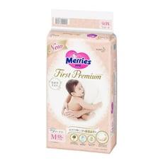 MERRIES 頂柔舒護黏貼式紙尿褲日本版 M(48片*4包/箱)