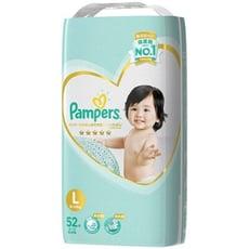 (日本境內版) 全新品 PAMPERS一級棒(增量)黏L52片(每箱/3包)(全日文包裝)