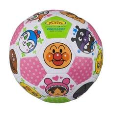 日本進口 麵包超人 Anpanman 安全彩色超軟皮球小足球 嬰兒童 玩具