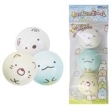 角落生物軟球 Sumikko Gurashi 角落小夥伴兒童玩具軟球 白熊 貓咪 蜥蜴