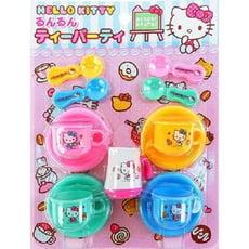 日本進口 凱蒂貓 Hello Kitty 下午茶玩具組 扮家家酒