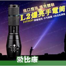L2 LED伸縮變焦小型手電筒【歐比康】
