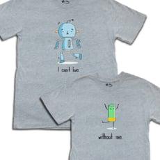 情侶裝【你是我生活的一切】 純棉T-shirt 插畫家手繪款