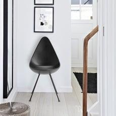 18PARK-貝卡餐椅 [塑料/金屬,黑]