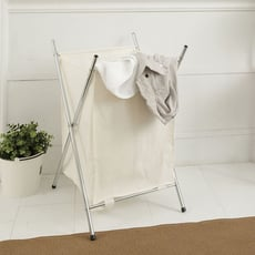 【ikloo】附蓋髒衣收納籃/洗衣籃 (單格)