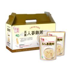 【韓味不二】高麗人蔘雞粥禮盒280g x 10入