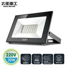 【太星電工】30WLED防水投射燈/220V/白光