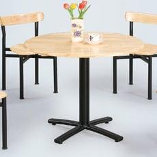 【ONE 生活】牡爾實木十字腳餐桌(木)