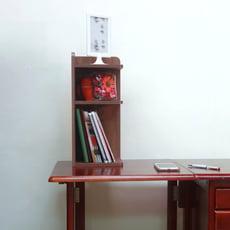 【ONE 生活】仿古時尚桌上三層角落櫃/轉角櫃/隙縫櫃