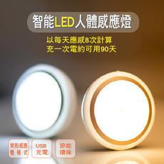 USB充電式-智能LED人體感應燈 常亮/感應雙模式