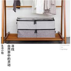 防潮加厚透明鞋盒抽屜式布藝鞋子收納盒床底整理箱盒子靴子鞋箱