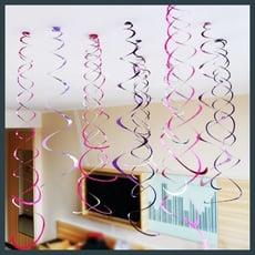 【現貨】捲捲紙流蘇 漩渦 螺旋 紙流蘇 裝飾 派對 生日 婚禮 氣球裝飾 拉花 浪漫【氣球快易送】