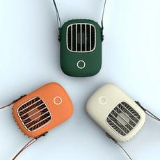 Robôs迷你便攜電風扇掛脖設計向上廣角出風 超長續航 低噪大風 可掛脖 手持 站立 多用途(3色)