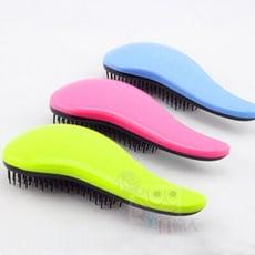 美髮小物~ 彩色防靜電順髮魔法梳(1入)  魔法梳/梳子/美髮梳