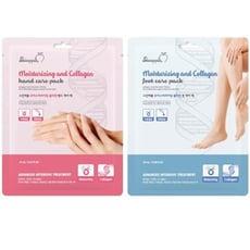 韓國 SkinApple 膠原長效保濕手膜/足膜(1雙入) 2款可選 手膜/足膜/足貼