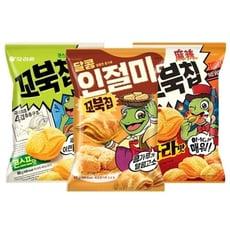【韓國 好麗友】烏龜玉米脆餅(80g) 款式可選  零食/團購/脆餅