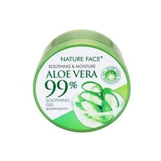 韓國 Nature Face~99%蘆薈保濕舒緩凝膠(300ml) 臉部/凝膠/夏日/保濕