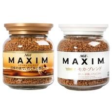 日本 AGF~Maxim箴言金咖啡/香醇摩卡咖啡/濃郁深煎咖啡/華麗香醇咖啡(80g)D275195