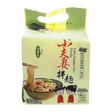 小夫妻Q麵 油蔥香乾拌麵(123gx4包入) 古早味/乾麵/關廟麵