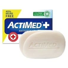 ACTIMED 艾迪美~抗菌潔膚皂(125g)  潔膚皂/肥皂/香皂/身體清潔