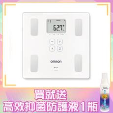 OMRON HBF222T (白色) 歐姆龍 藍芽 體重計 體脂計【生活ODOKE】