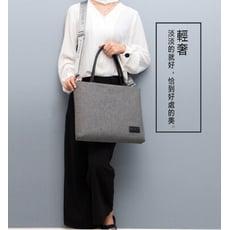 簡約低調氣墊式13吋時尚筆電包