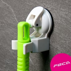 FECA非卡 無痕強力吸盤 壁式收納管夾